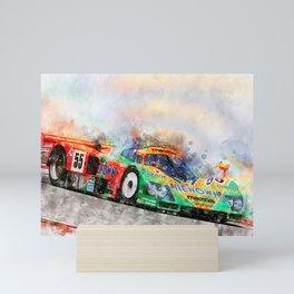 787B Mini Art Print