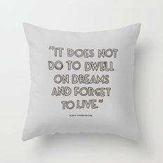 Harry Potter Quote #3 Throw Pillow