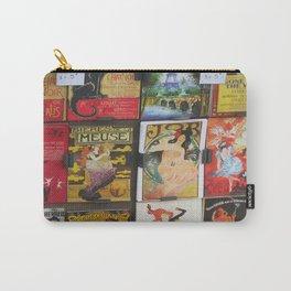 Paris Artwork Carry-All Pouch