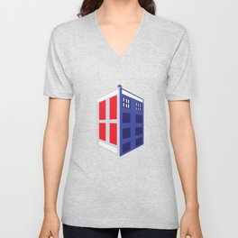 Time Travel Unisex V-Neck