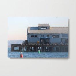 Monterey Bay Fish Co. Metal Print