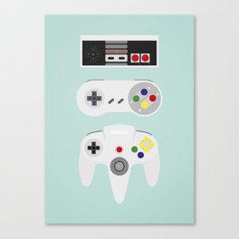 Video Game controller Canvas Print