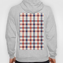 1064179170 Plaid Red White And Blue Lumberjack Flannel Hoody