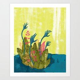 l'isola di calipso Art Print