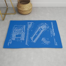 Skee Ball Patent - Blueprint Rug