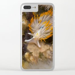 Opalescent Nudibranch Clear iPhone Case