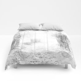 Trail Sketch Comforters