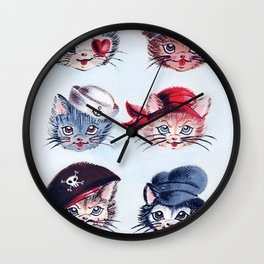 A Paw-rate's Life For Me Wall Clock