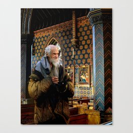 Composition 86 – 'Non Sum Dignus' (Am Not Worthy) Canvas Print
