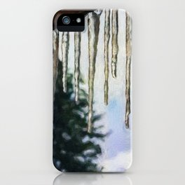 Hanging Down iPhone Case