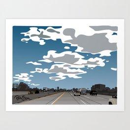 The 405 Art Print