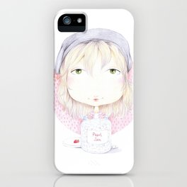 pearly jam iPhone Case