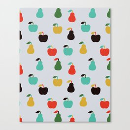 Apples + Pears Canvas Print