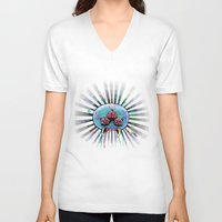 metroid V-neck T-shirts featuring Metroid  by Jauma