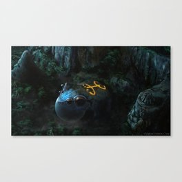 We long for the son that has become our lullaby Canvas Print