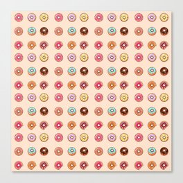 Is their such a thing as too many donuts? Canvas Print