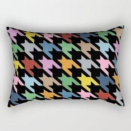 Black Dog T Rectangular Pillow
