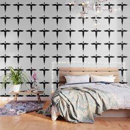 Caduceus Medical Symbol Isolated Wallpaper
