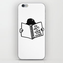 50 Ways To Leave Your Lover iPhone Skin