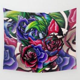 Roses Roses Roses Wall Tapestry
