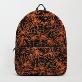 Spooky Spider Webs Backpack