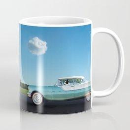 Border Collie Road Trip Coffee Mug