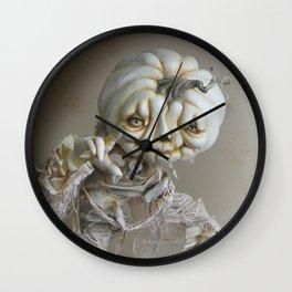 Rucus Studio Halloween Ghostly Haunt Wall Clock