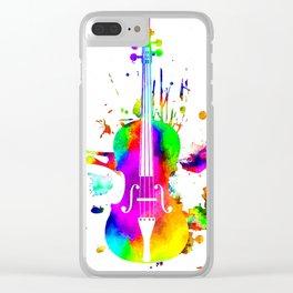 Violin Clear iPhone Case