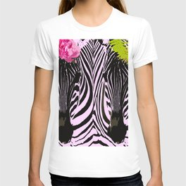 Always together - Two Zebras - illustration - fun - #society6 #buyart T-shirt