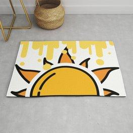 Big Sunset Art Rug