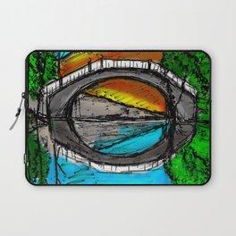 Bridge Reflection Marker #2 colored Laptop Sleeve