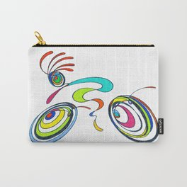 Bicycle - Kokopelli rides again Carry-All Pouch