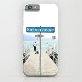 Embarcadère du Léman - Leman Jetty iPhone Case