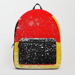 Germany Flag Grunge Backpack