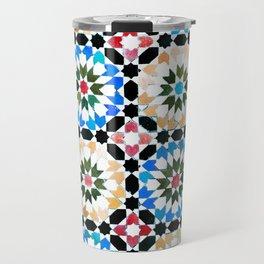 Oriental pattern Travel Mug
