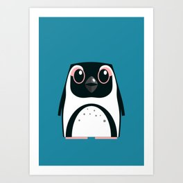 African Penguin - 50% of profits to charity Art Print