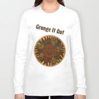 grunge Long Sleeve T-shirts featuring Grunge by BohemianBound