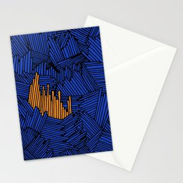 Happy Abstract Nr:01 Stationery Cards