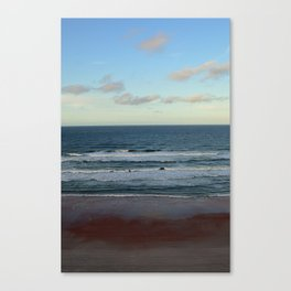 Evening by the Sea Canvas Print