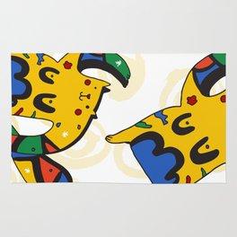 Joan Miro's Cat Rug
