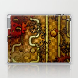 Noble Steampunk design, clocks and gears Laptop & iPad Skin