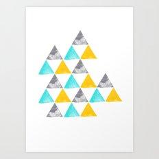 the power of three Art Print