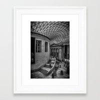 british Framed Art Prints featuring British Museum by liberthine01
