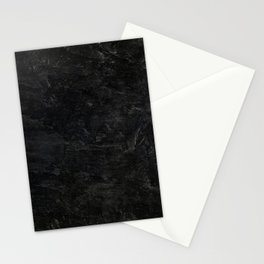 Black rock two Stationery Cards