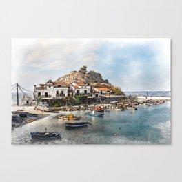 Samos - Kokkari Canvas Print