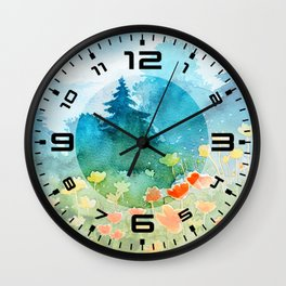 Spring scenery #1 Wall Clock
