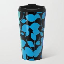 Cobalt Foliage Travel Mug