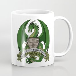 Clan Stonefire Green Dragon Crest Coffee Mug