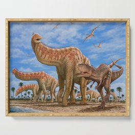 Dinosaurs Jurassicm Serving Tray
