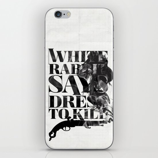 Dress To Kill iPhone & iPod Skin